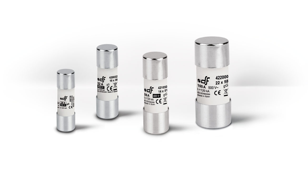 Cylindrical gG fuse-links